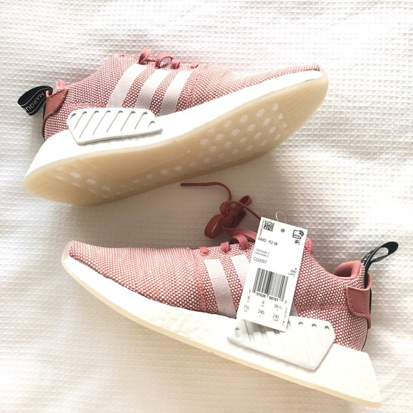 RARE Adidas NMD R2 Ash Pink Rose Sneakers